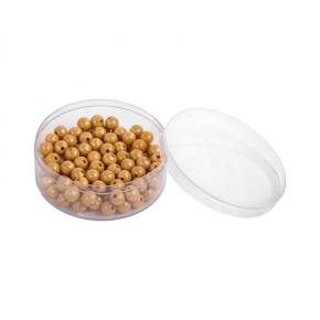 100 Golden Bead Units in a Plastic Box