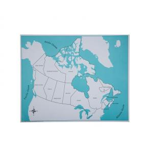Canada Control Map - Labeled