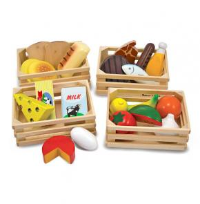 Food Groups Wooden Set