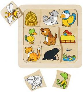 Animal Homes Puzzle