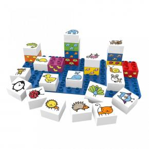 Learning Animals Building Blocks Set