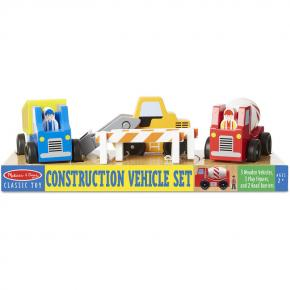 Construction Vehicle Wooden Set (8 Pcs)